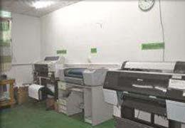 标牌印刷车间